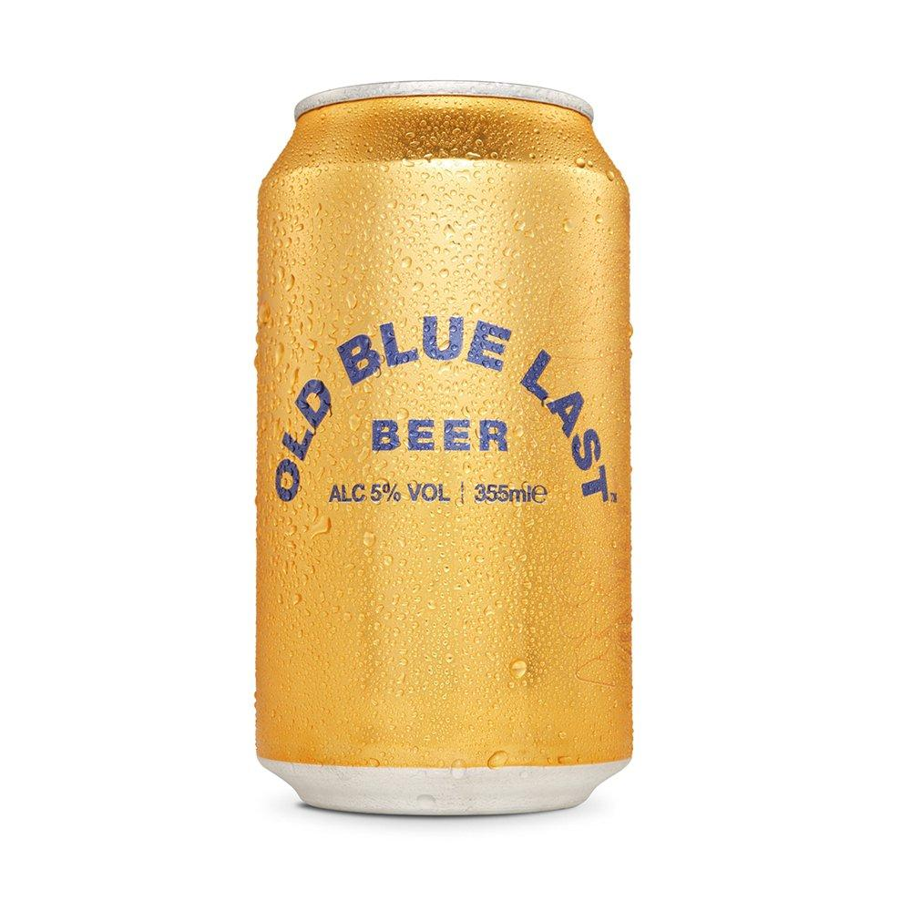 Old Blue Last Lager Beer Can 355ml