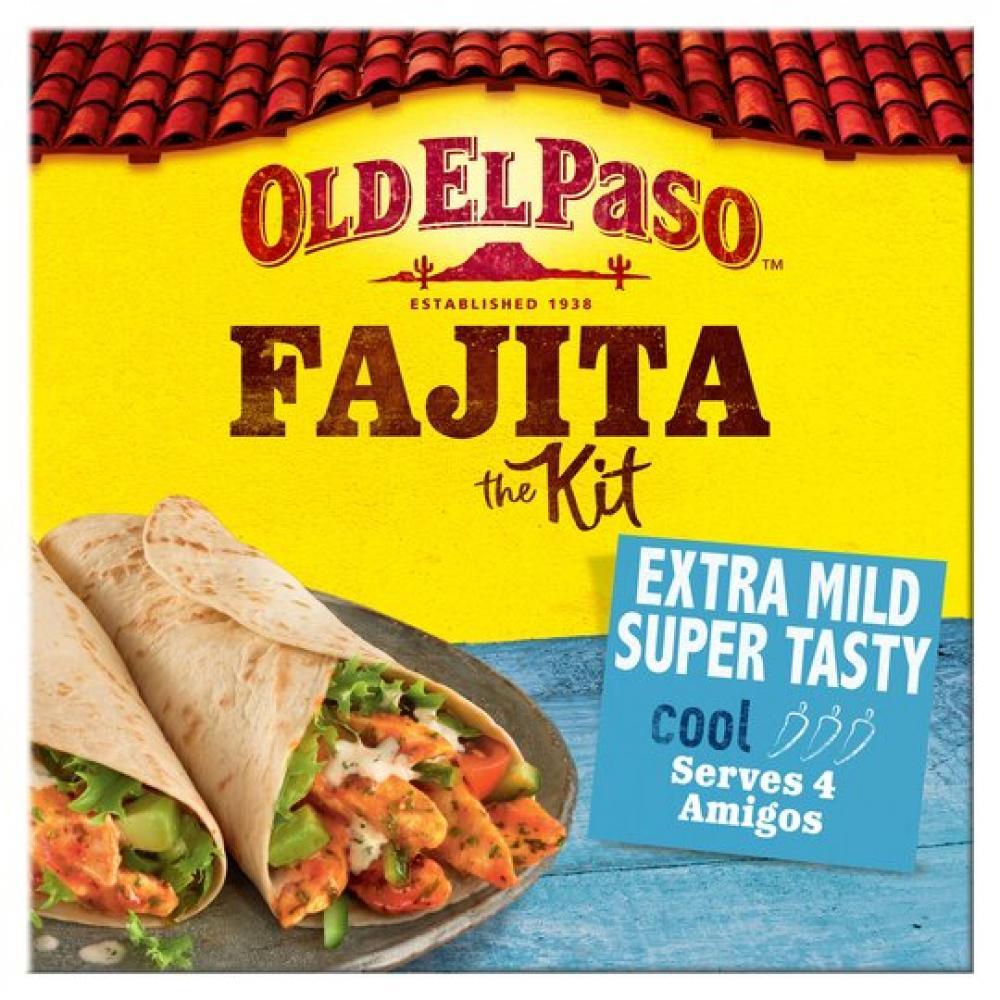 Old El Paso Fajita Kit Extra Mild 476g