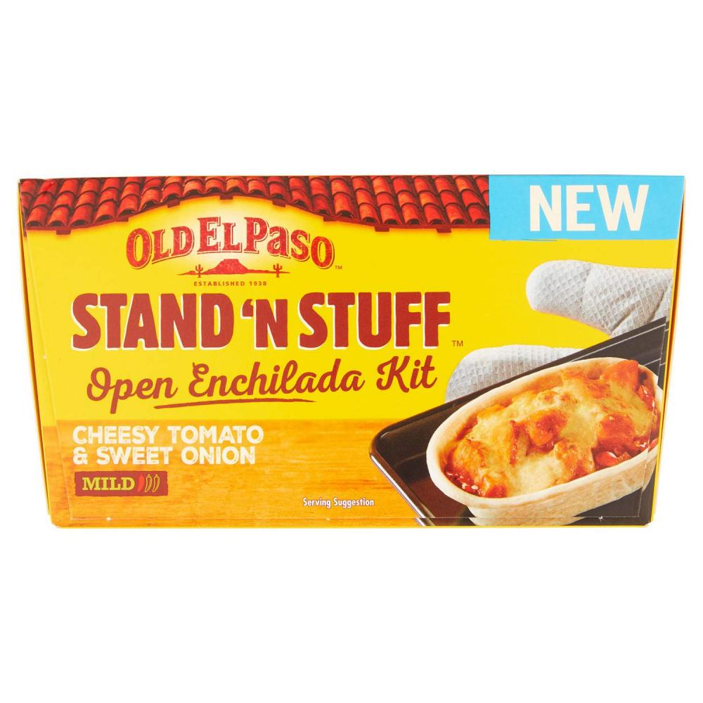 Old El Paso Stand N Stuff Open Enchilada Kit Cheesy Tomato And Sweet Onion 398g