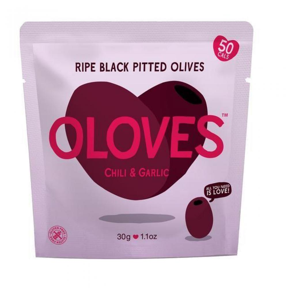 Oloves Chilli and Garlic 30g