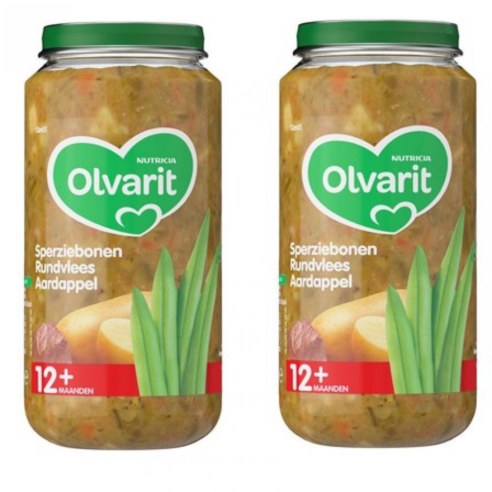 Olvarit Green beans beef potato 250g