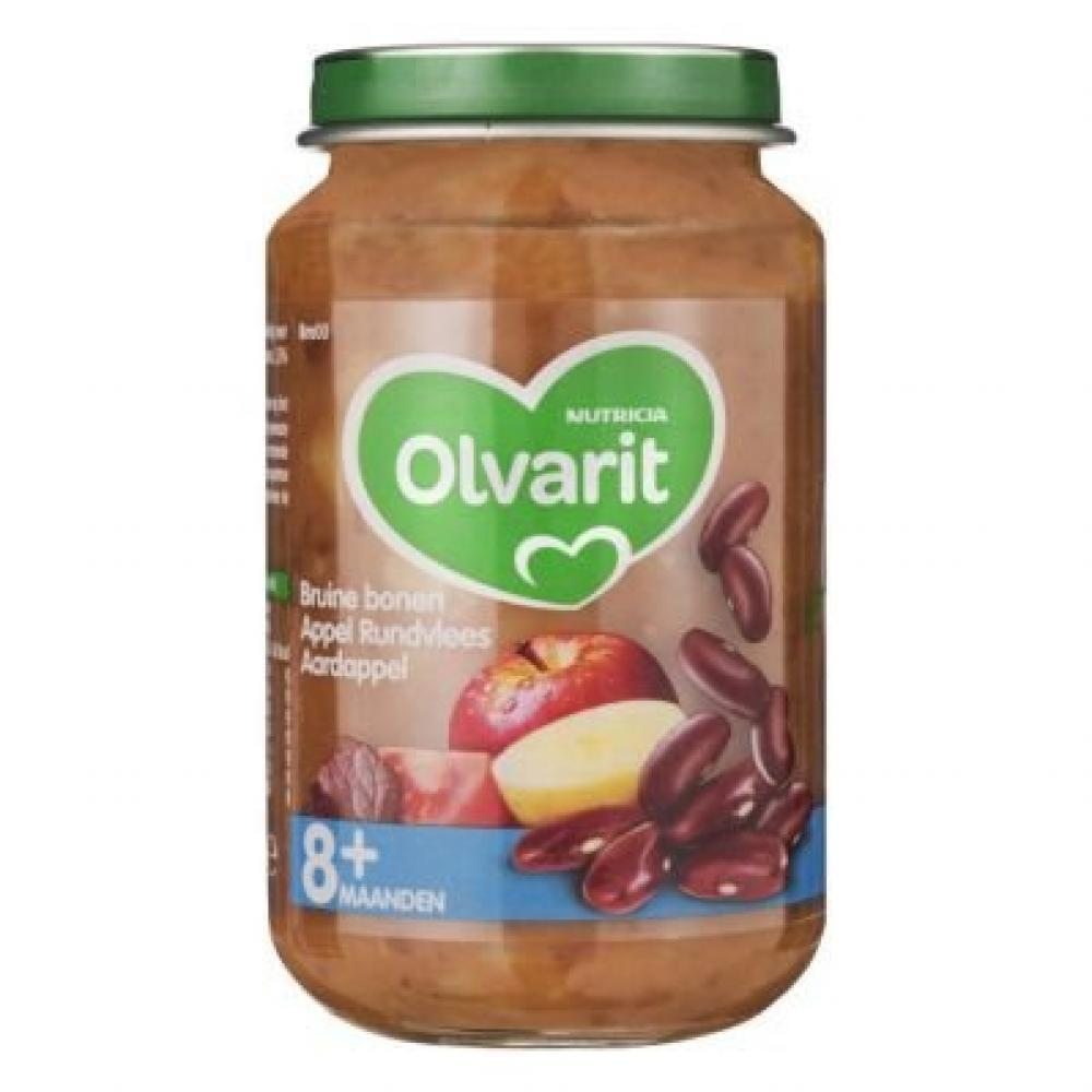Olvarit Kidney Beans Apple Beef Potato 200g