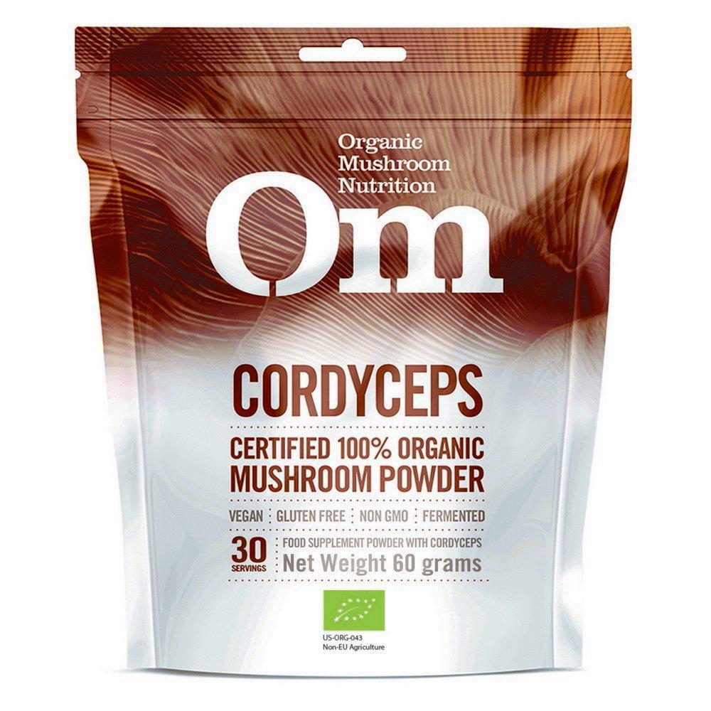 OM MUSHROOMS Organic Mushroom Powder 60 g