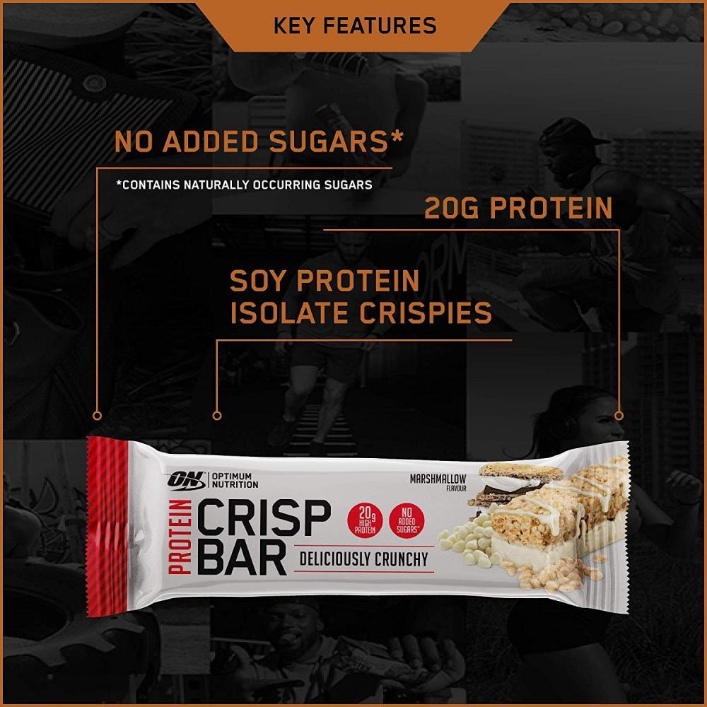 Optimum Nutrition Protein Crisp Bar Marshmallow Flavour 65g
