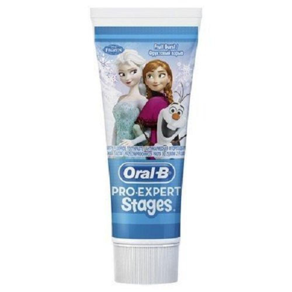 Oral-B Disney Frozen Pro-Expert Stages Kids Toothpaste 75 ml