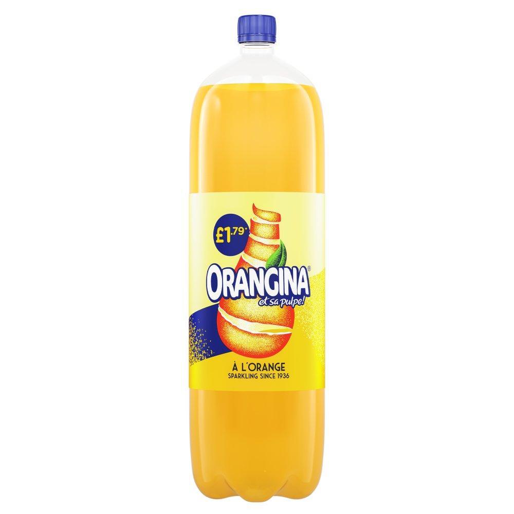 Orangina Sparkling Orange Drink 2 Litre
