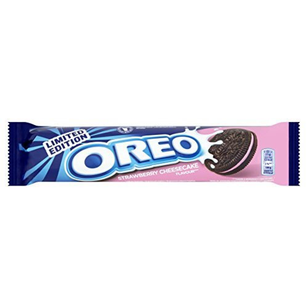 Oreo Limited Edition Strawberry Cheesecake Flavour 154g