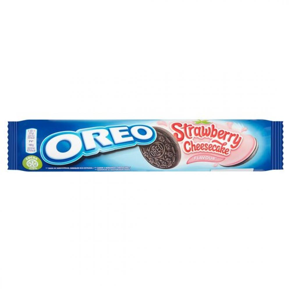 Oreo Strawberry Cheesecake Flavour 154g