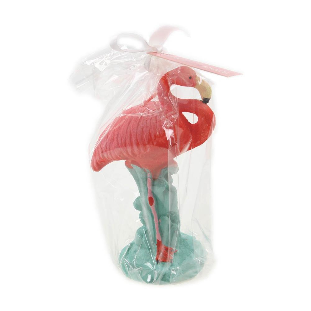 Out of the Blue Flamingo Candle