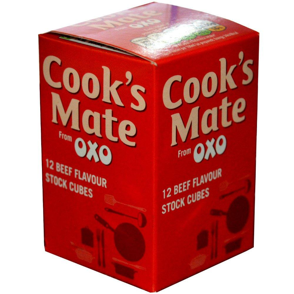 Oxo Cooks Mate 12 Beef Stock Cubes