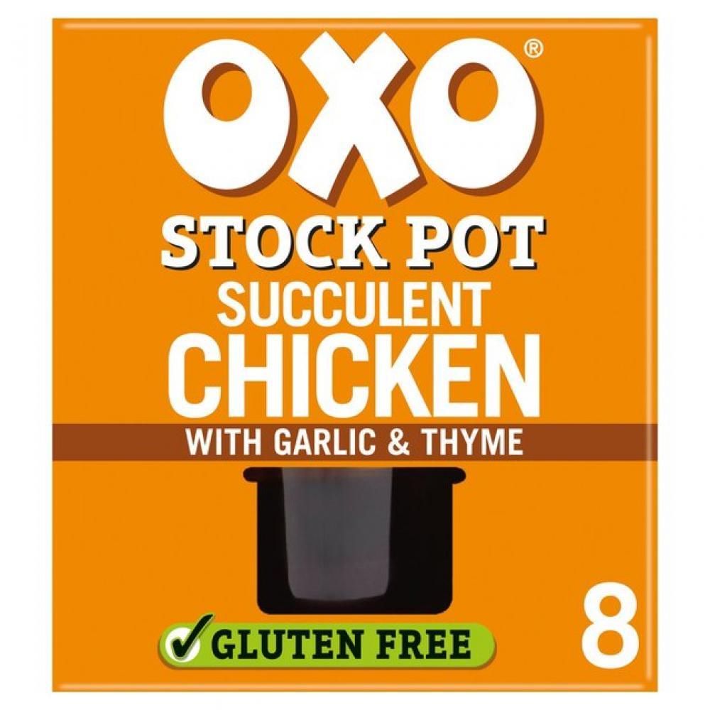 Oxo Stock Pot Succulent Chicken x 8