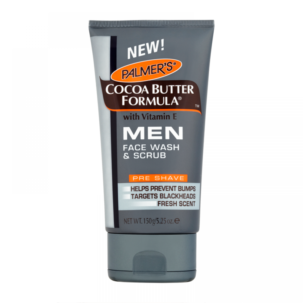 SALE  Palmers Cocoa Butter Formula Face Wash and Scrub for Men 150 g