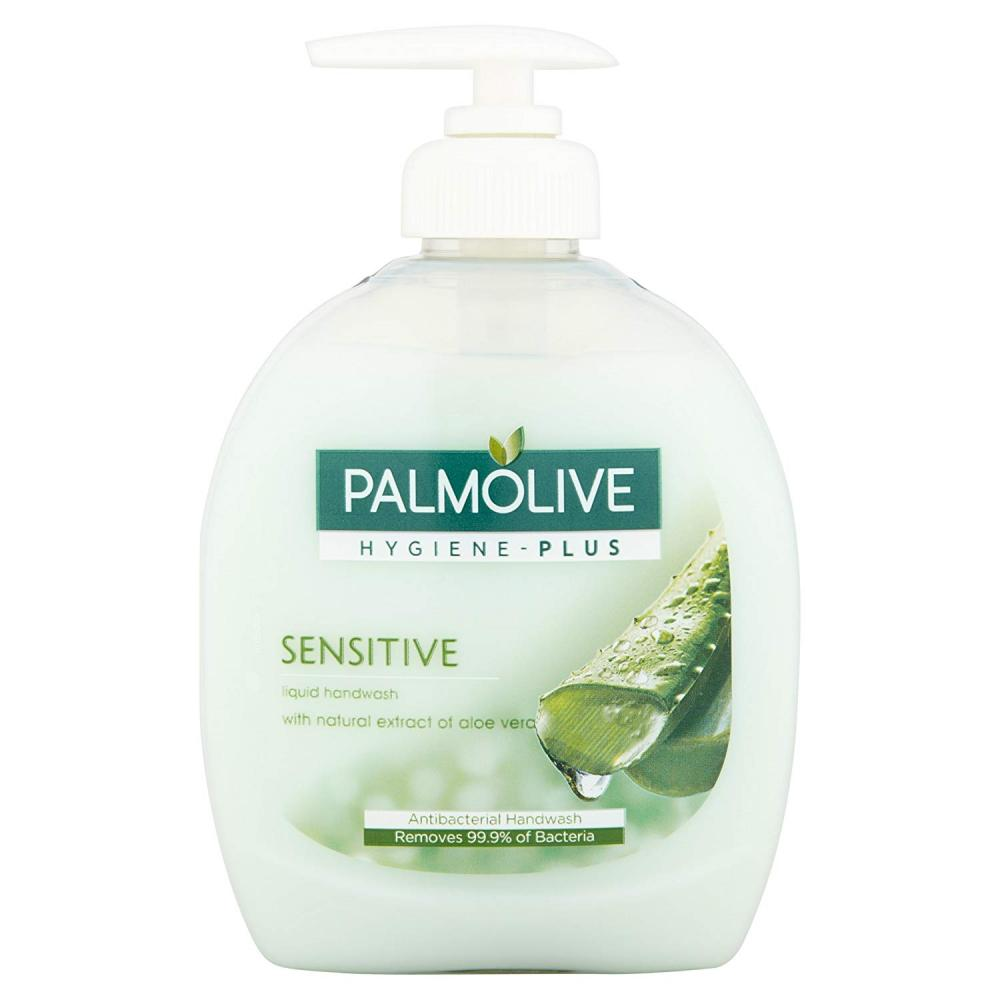 Palmolive Hygiene-Plus Sensitive Liquid Handwash with Aloe Vera 300ml