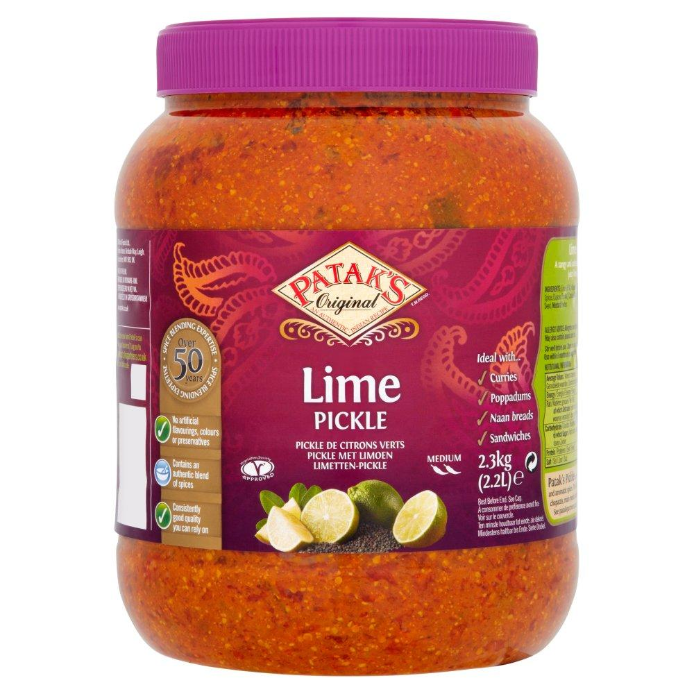 Pataks Hot Lime Pickle 2.3kg