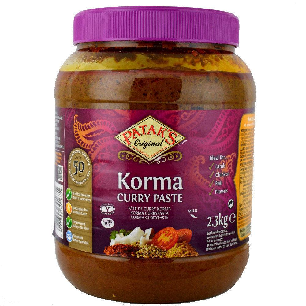 Pataks Korma Curry Paste 2.3kg