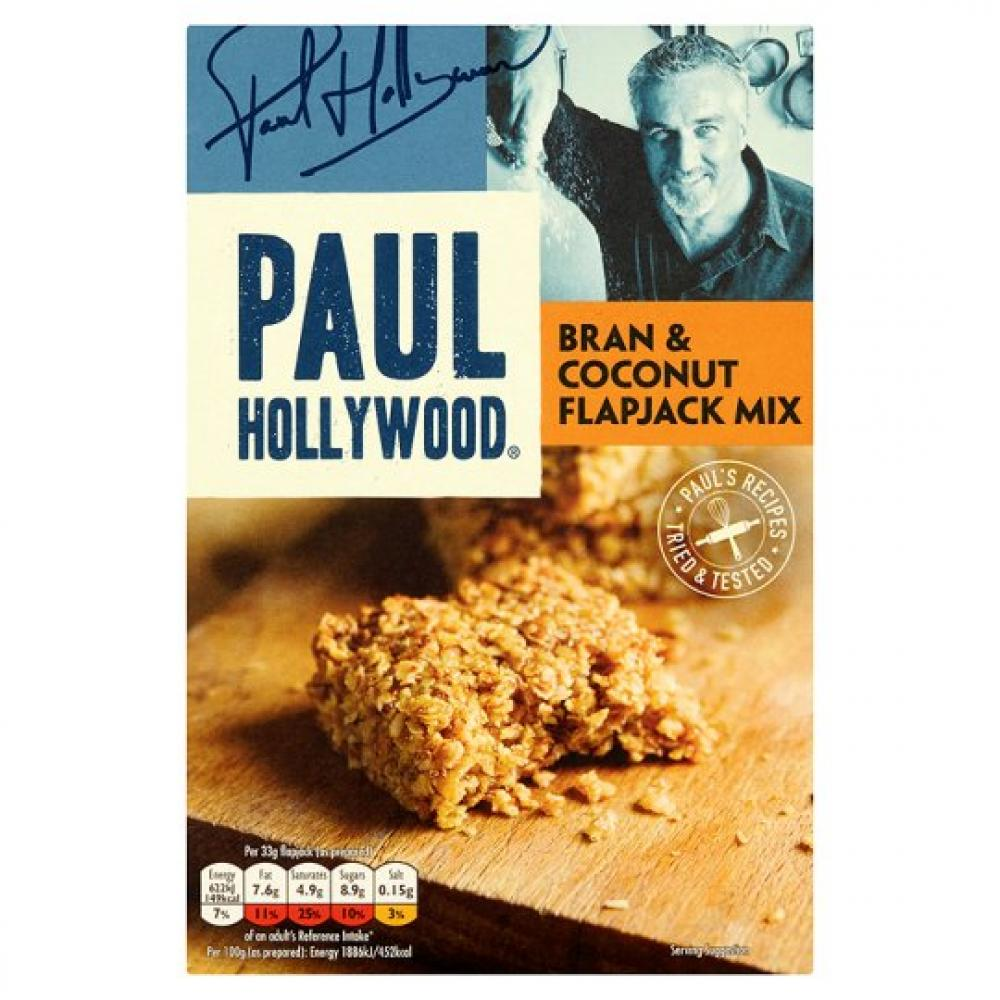 Paul Hollywood Bran And Coconut Flap Jack Mix 435g
