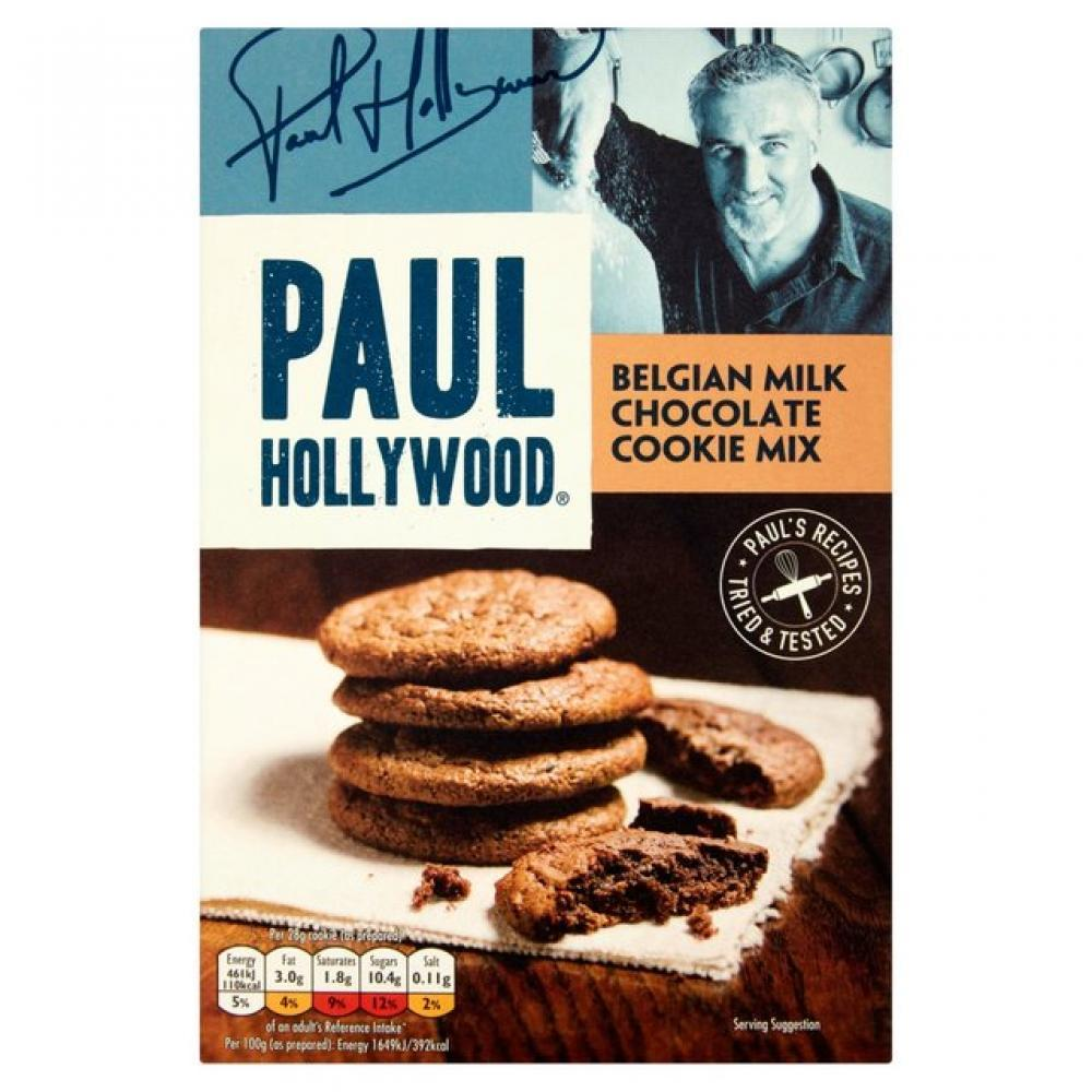 Paul Hollywood Luxury Belgian Chocolate Cookie Mix 225g