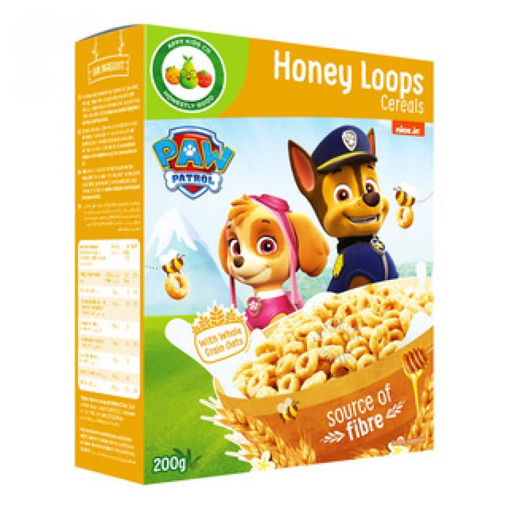Paw Patrol Honey Loops Cereals 200g