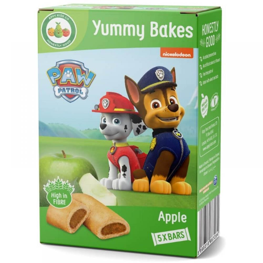Paw Patrol Yummy Bakes Apple Bars 5 x 23g