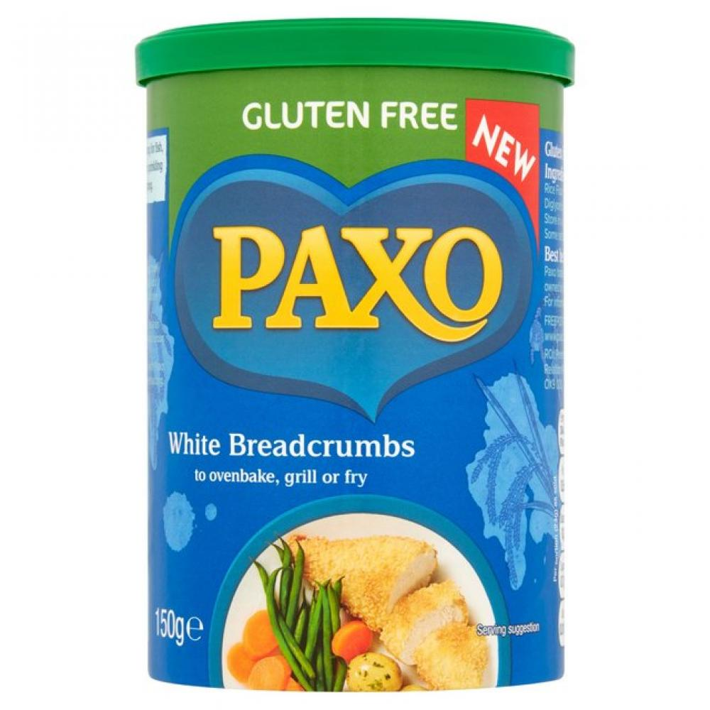 Paxo Gluten Free White Breadcrumbs 150g