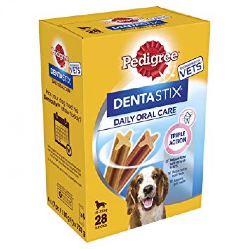 Pedigree Dentastix Daily Oral Care Medium Dog 10-25kg 720g