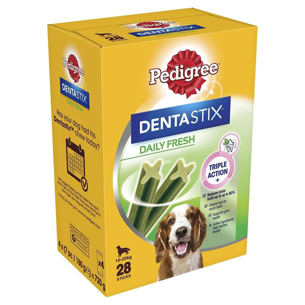 Pedigree Dentastix Fresh Dental Dog Chews - Medium Dog 28 Sticks