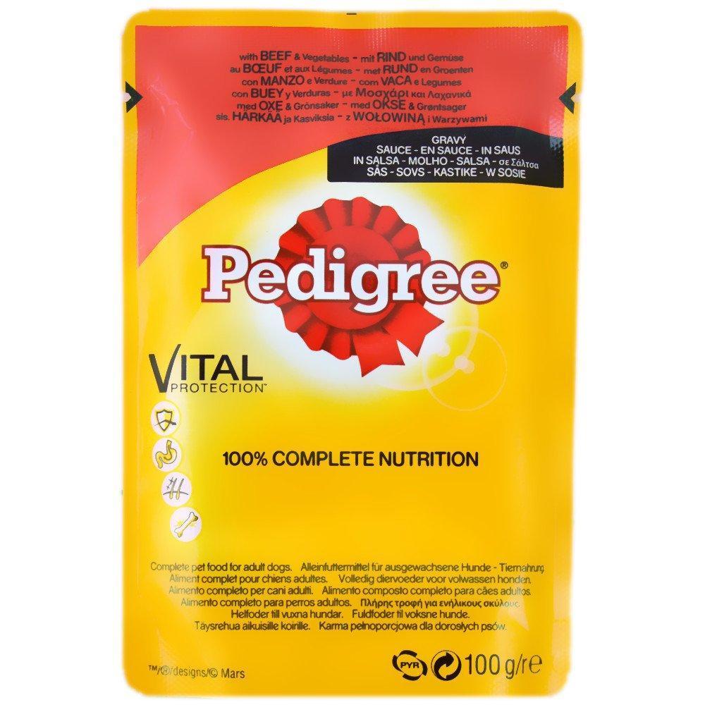 Pedigree Vital Protection In Gravy Lucky Dip 100 g
