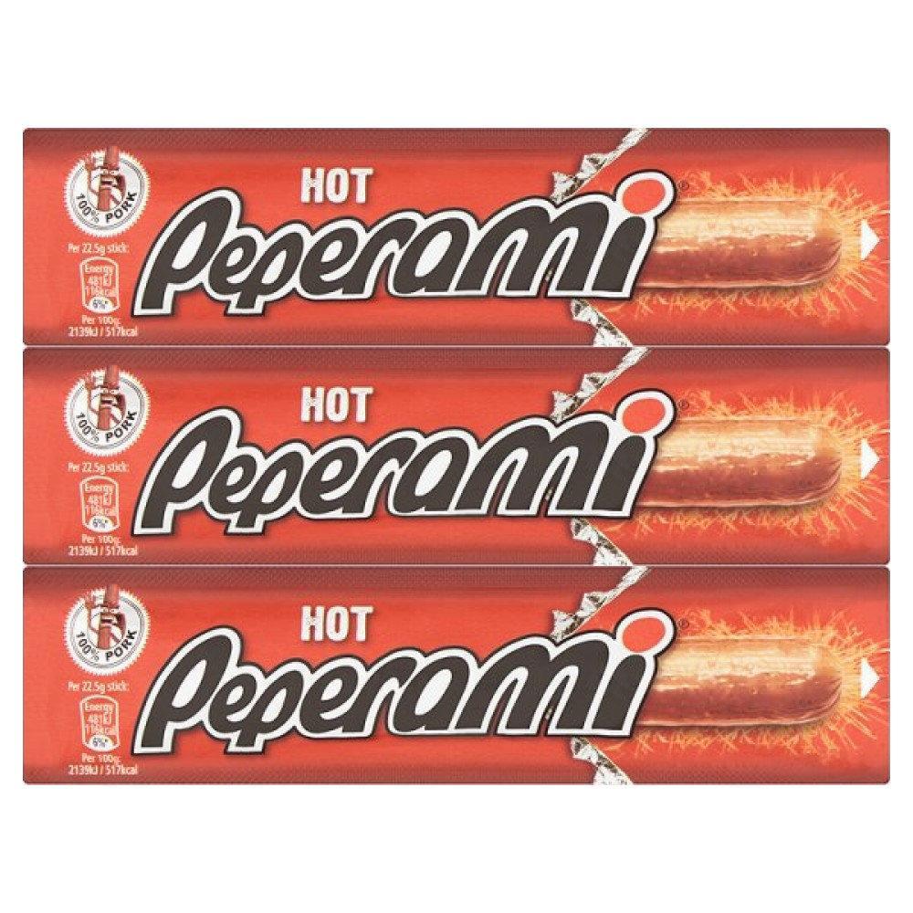Peperami Hot 22.5g x 3