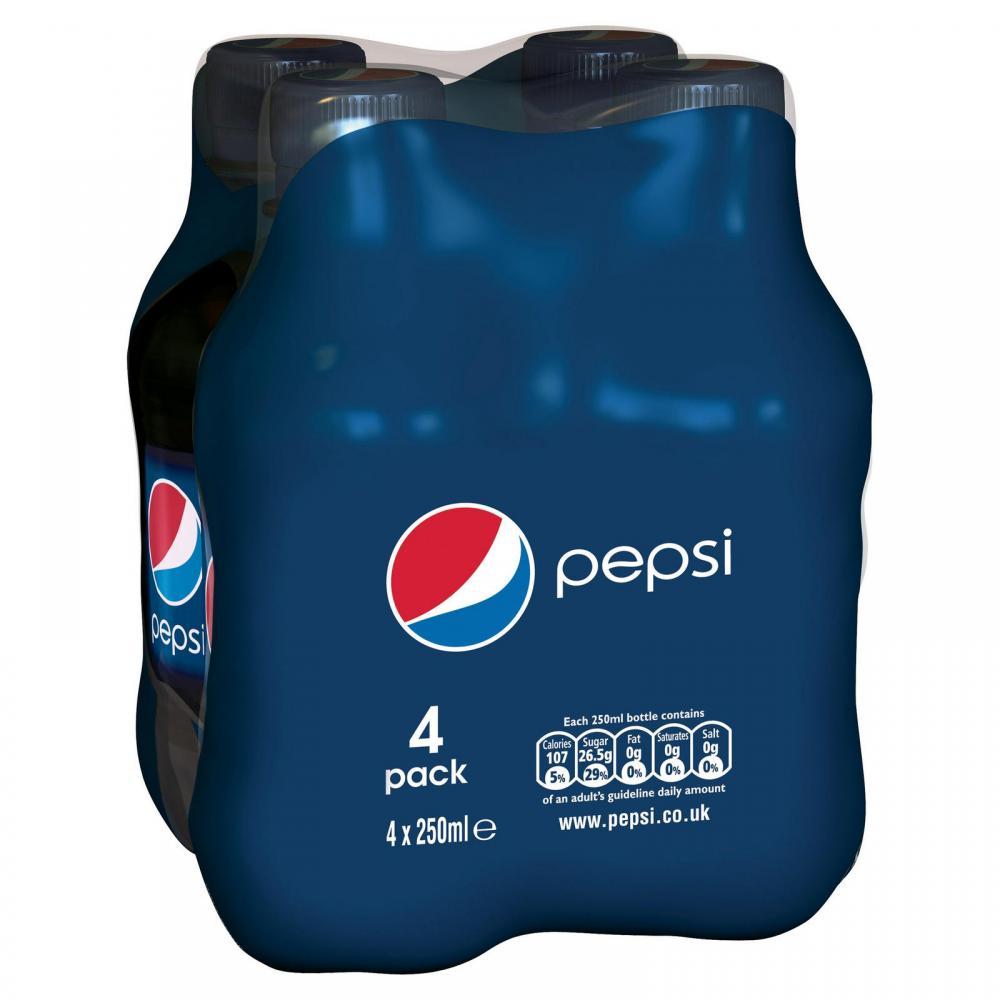 Pepsi 4 x 250ml