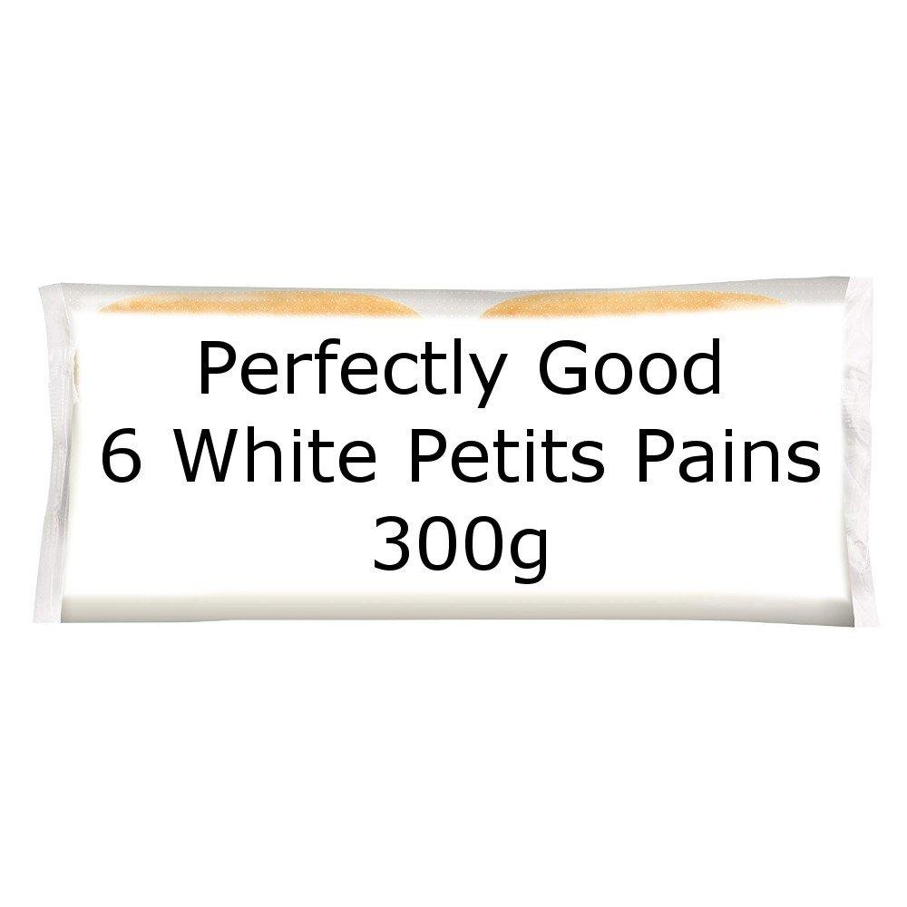 Perfectly Good 6 White Petits Pains 300g