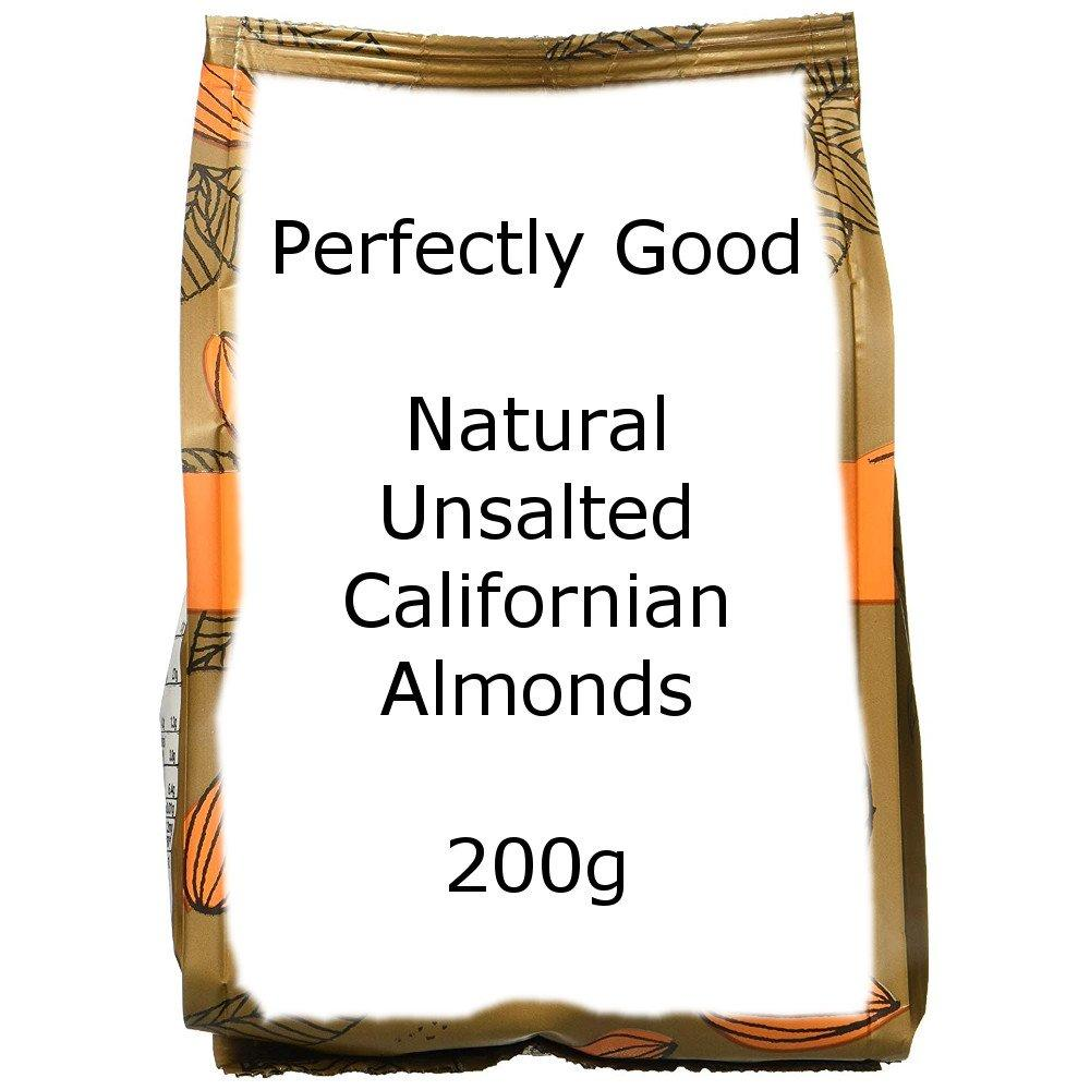 Perfectly Good Natural Unsalted Californian Almonds 200g