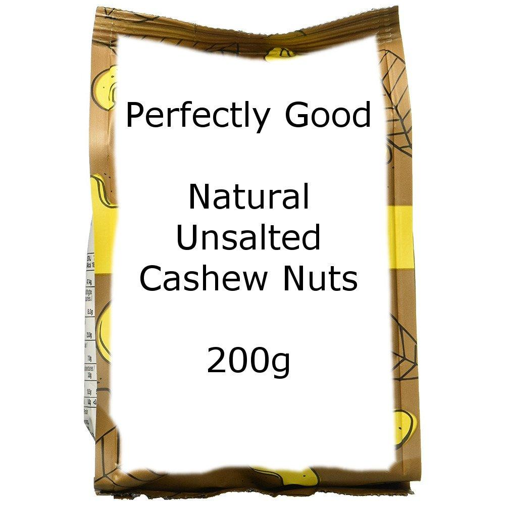 Perfectly Good Natural Unsalted Cashew Nuts 200g