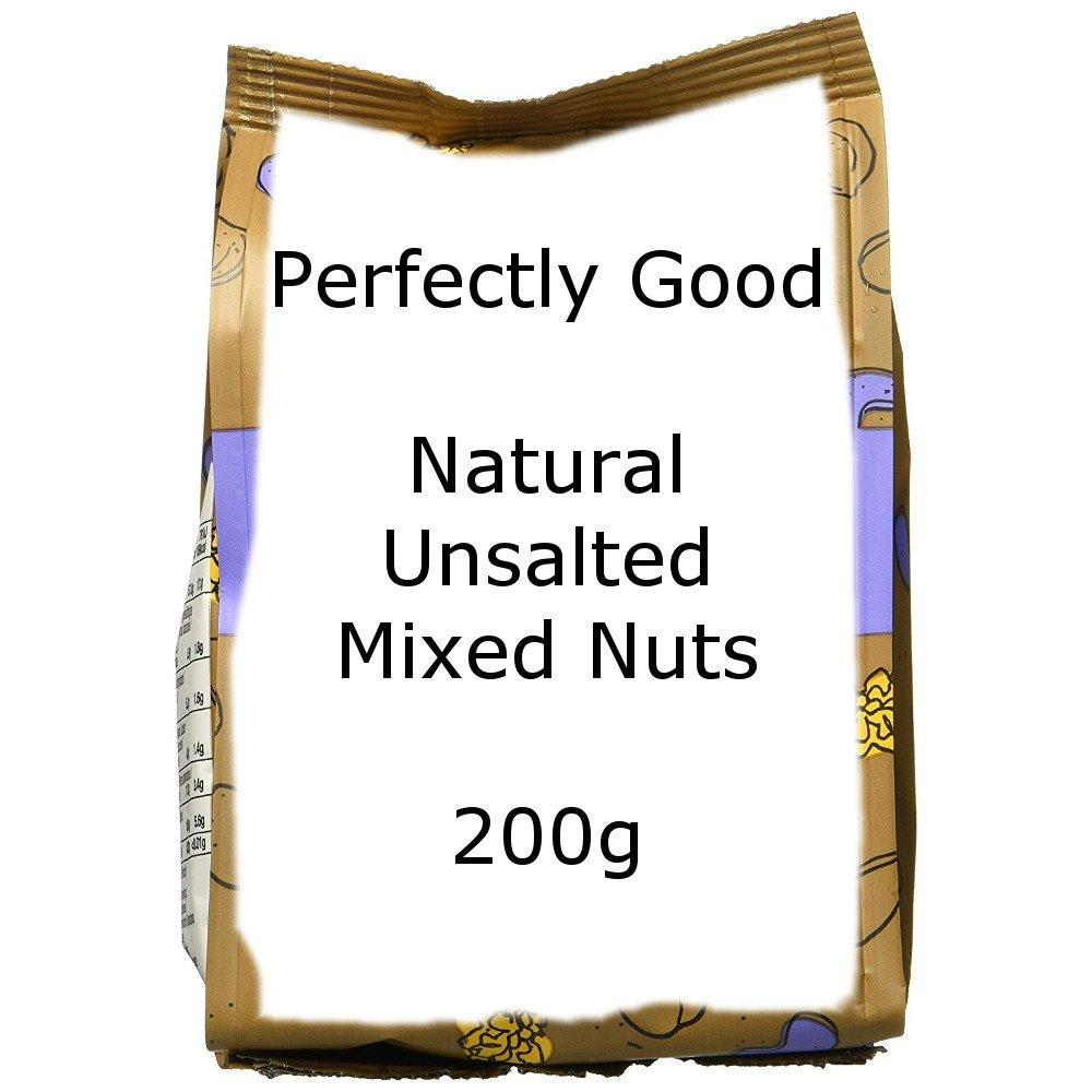 WEEKLY DEAL  Perfectly Good Natural Unsalted Mixed Nuts 200g