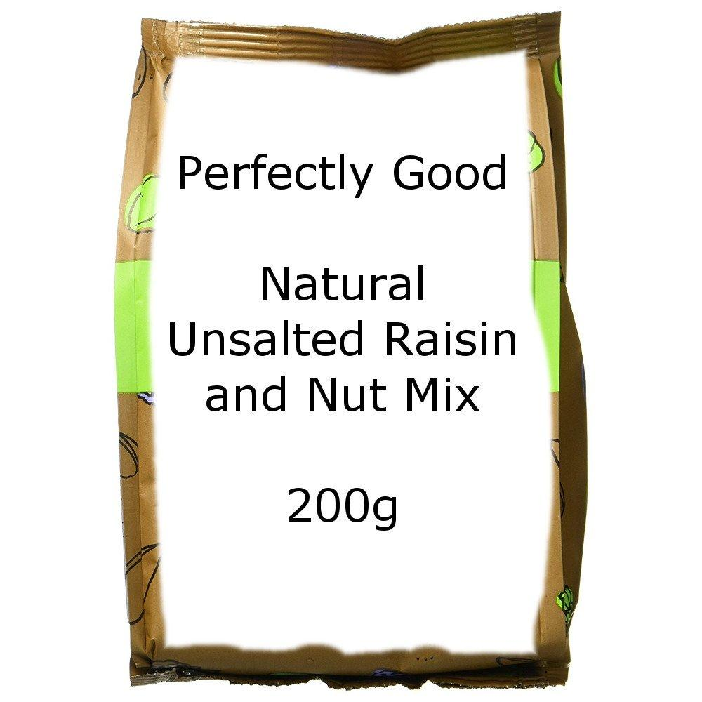 Perfectly Good Natural Unsalted Raisin and Nut Mix 200g