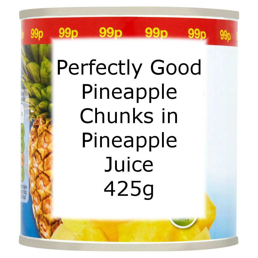 Perfectly Good Pineapple Chunks in Pineapple Juice 425g