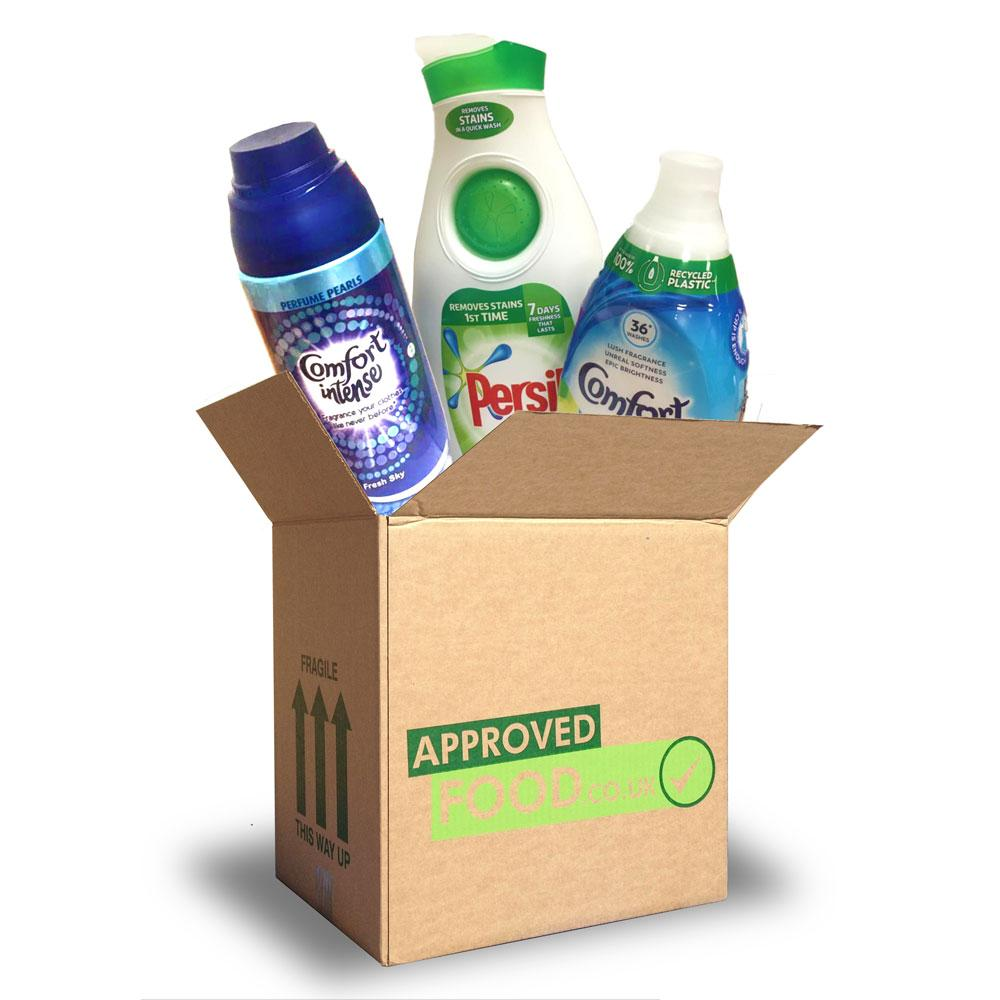 HOUSEHOLD DEAL  Persil and Comfort Mixed Household Box