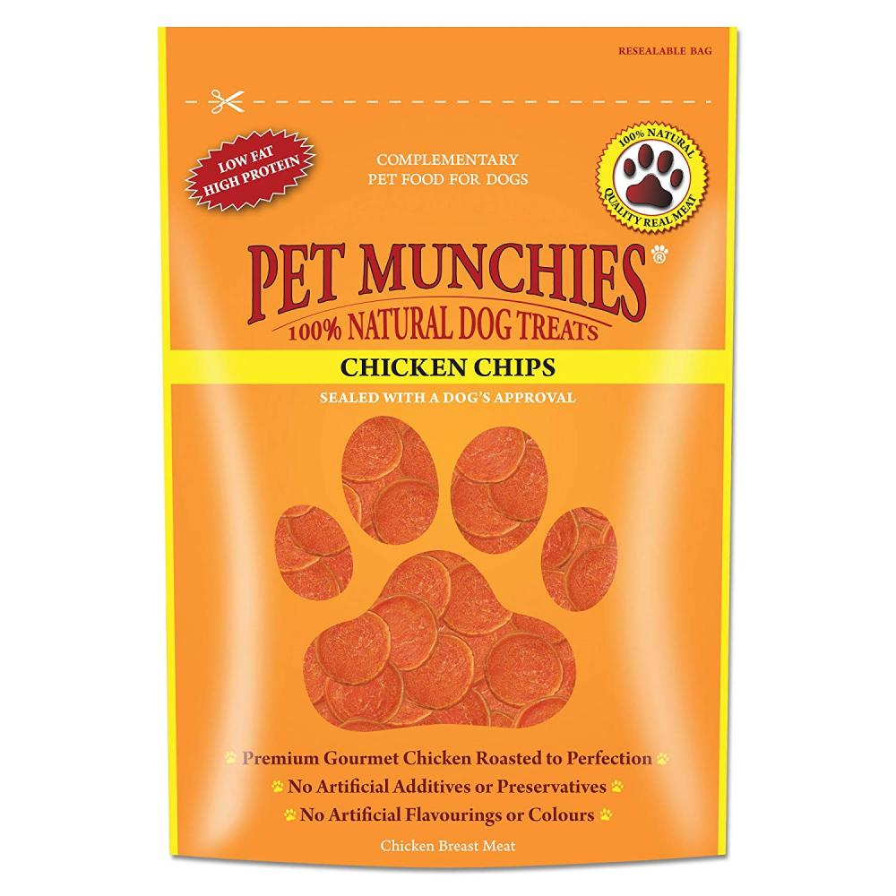 Pet Munchies Chicken Chips 100g
