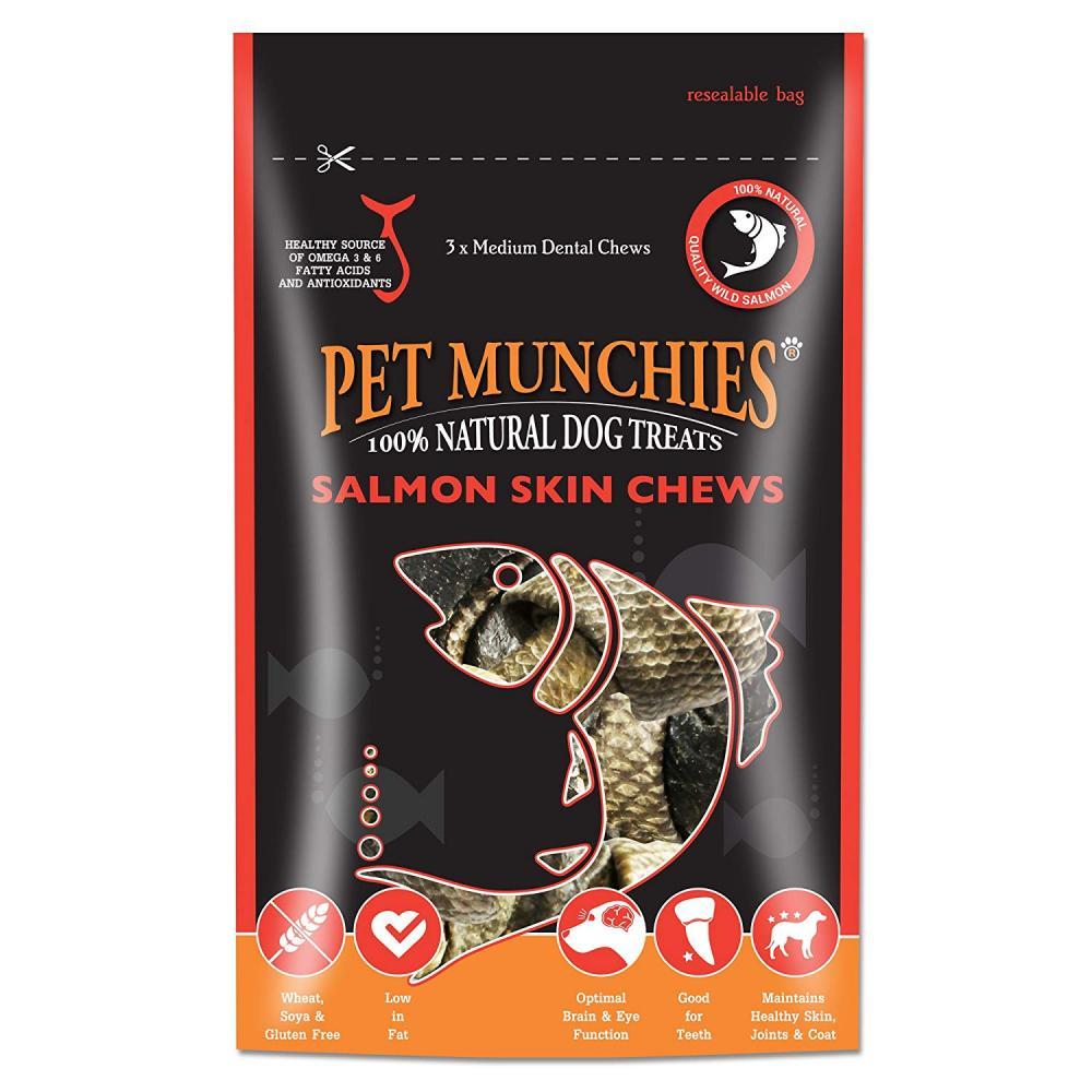 Pet Munchies Salmon Skin Chews 90g