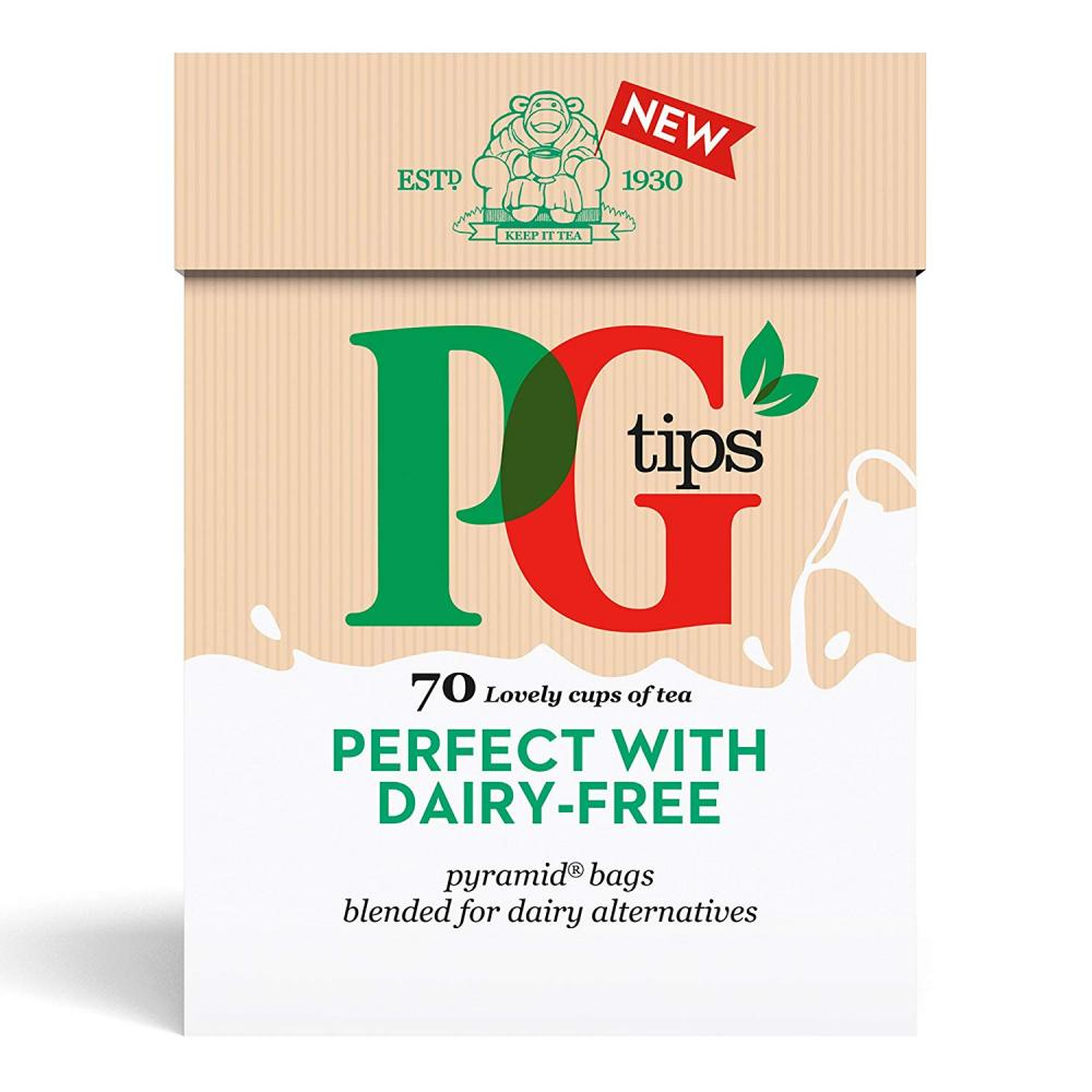 PG Tips Perfect with Dairy-Free Pyramid Tea Bags 203 g
