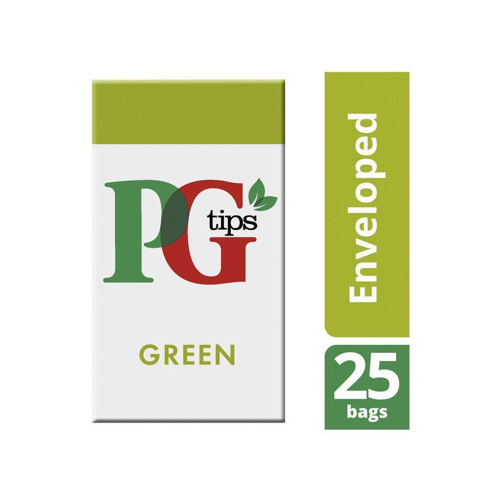 PG Tips Smooth Green Tea 25 Envelopes
