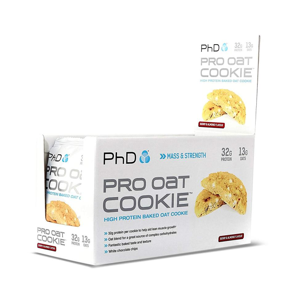 PhD Nutrition Pro Oat Cookie Berry And Almond 75g