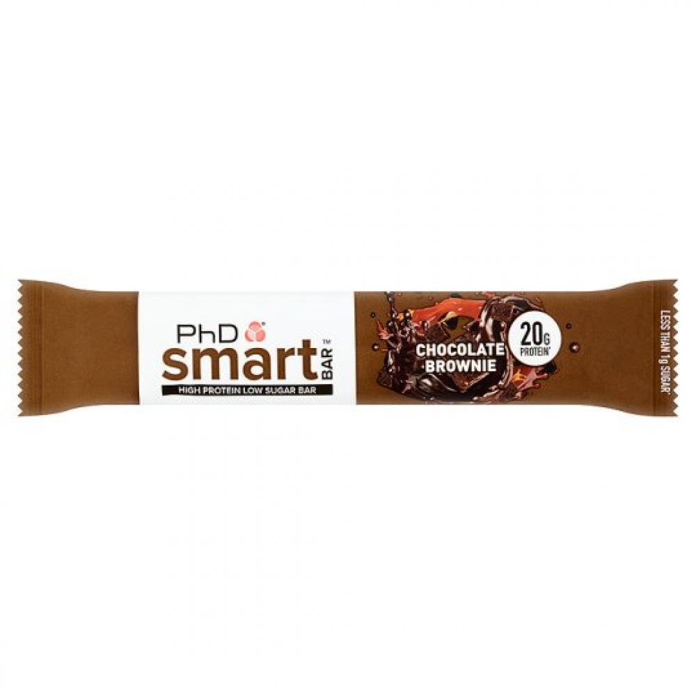 PhD Smart Bar High Protein Low Carb Bar Chocolate Brownie 64 g