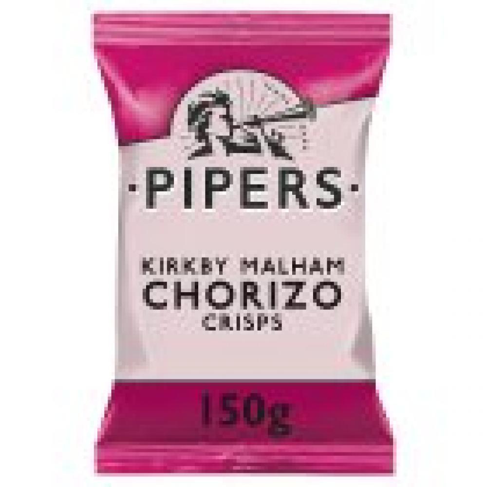 Pipers Crisps Kirkby Malham Chorizo 150g