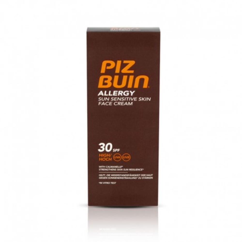 Piz Buin Allergy Sun Sensitive Skin Face Cream 30 SPF 50ml