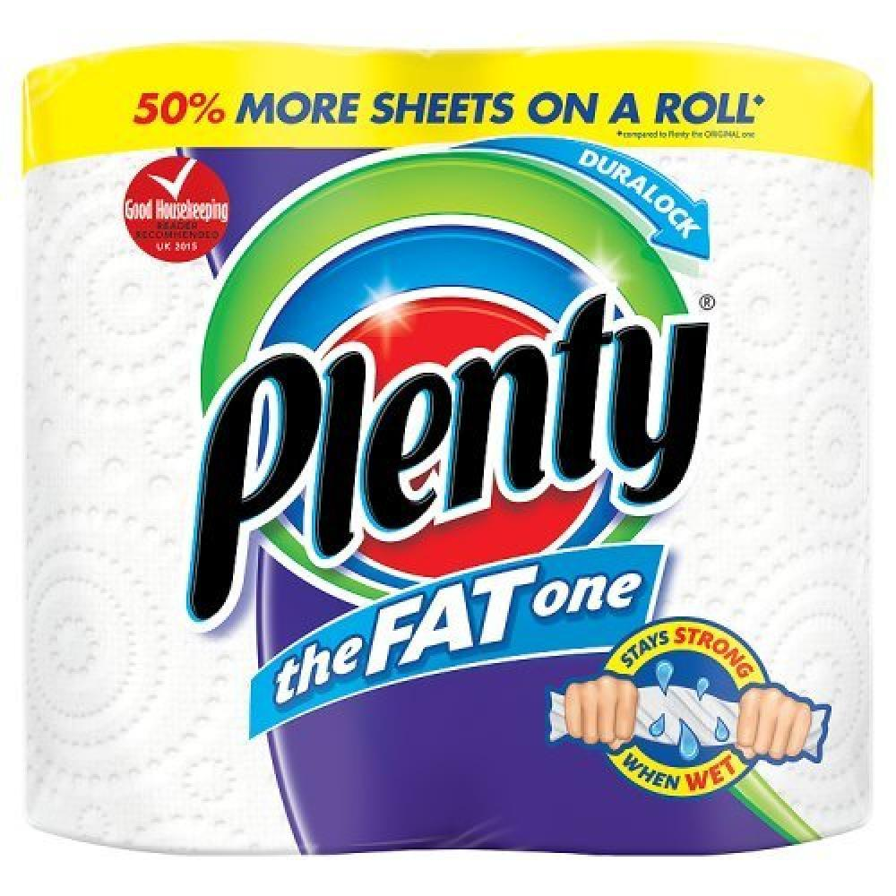 Plenty The Fat One Kitchen Towel 2 Rolls