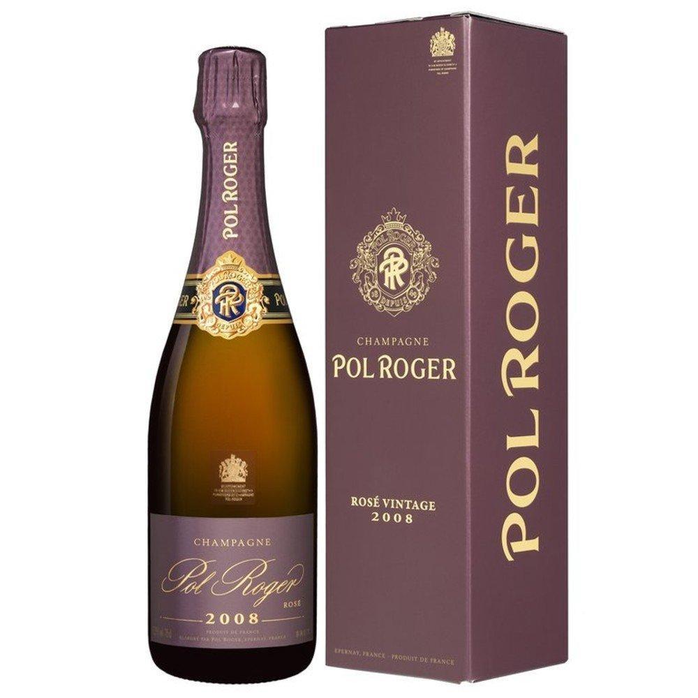 Pol Roger Rose Vintage Champagne 750ml 2008
