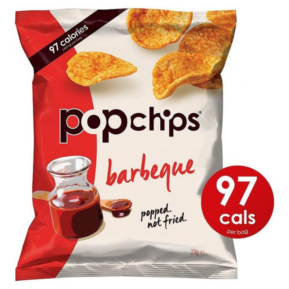 Popchips Barbecue Popped Chips 23g