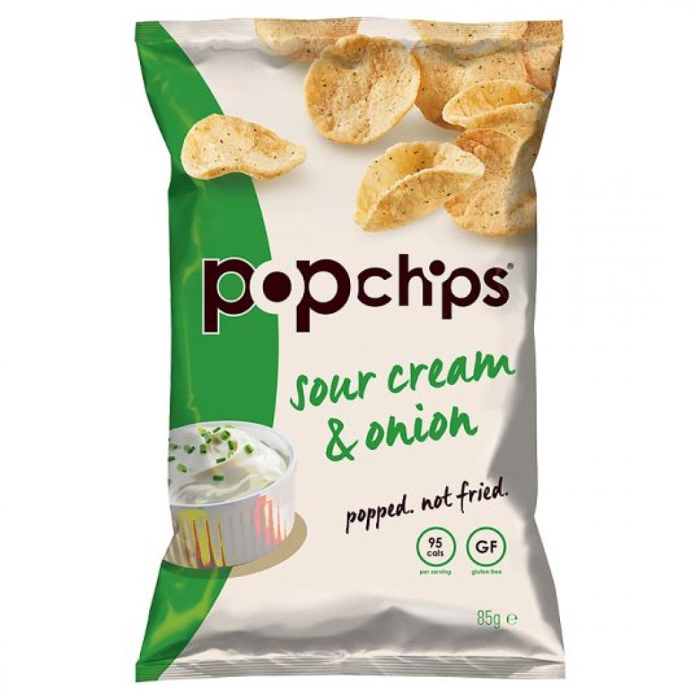 WEEKLY DEAL  Popchips Sour Cream and Onion 23 g