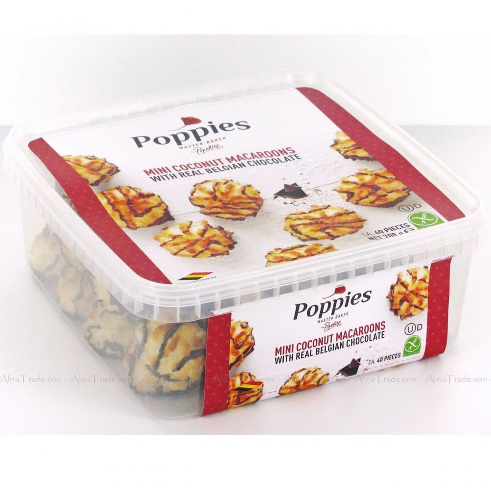 Poppies Mini Coconut Macaroons 700g