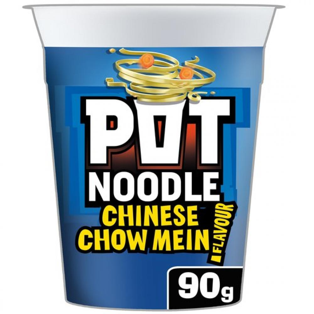 Pot Noodle Chinese Chow Mein Flavour 90g
